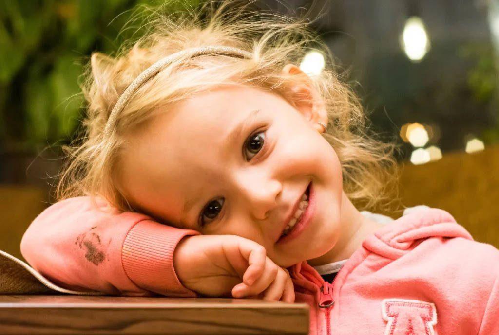 Canva Happy Smiling Girl