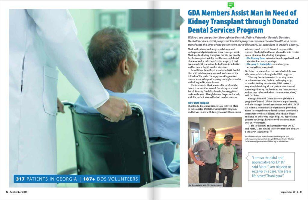 GDA Members Assist